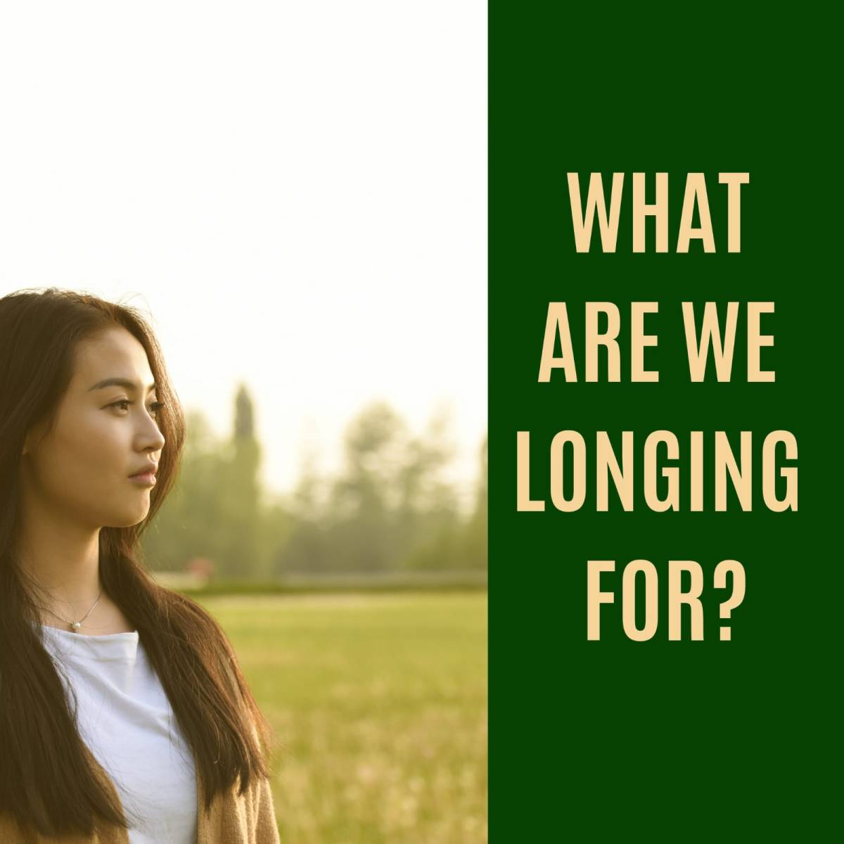What Are We Longing For?